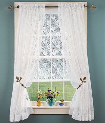 I Want Lace Curtains For The Dining Room