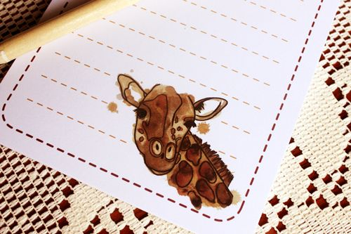 Notepads with Original Illustrations on The Loop © Anne Nicholson
