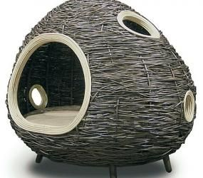 exclusive handwoven Cat Cabin made by Home Basic