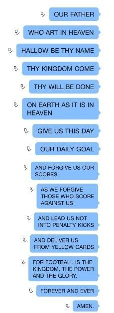 My daily prayer from now on