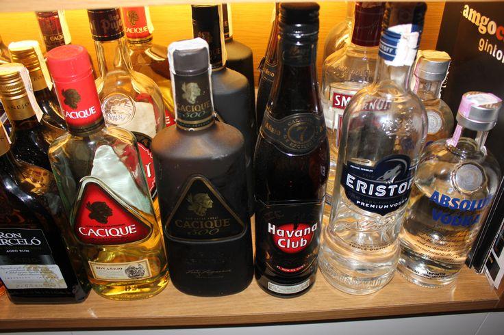 Nuestra selección de bebidas de la mejor calidad y al mejor precio