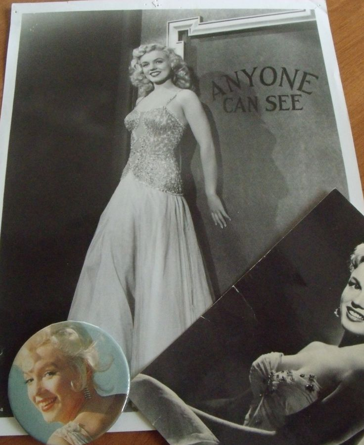Marilyn's promo shot for her 1948 film, Ladies of the Chorus – where she performed the song Anyone Can See. #Marilyn