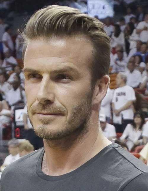 David Beckham Frisur 360 Ansicht Haircut Mens Hairstyle 2015