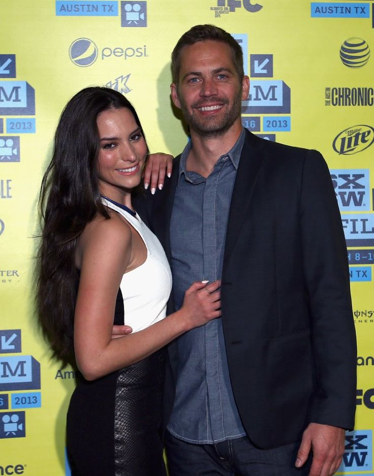 Paul Walker and Genesis Rodriguez at an event for Hours (2013)