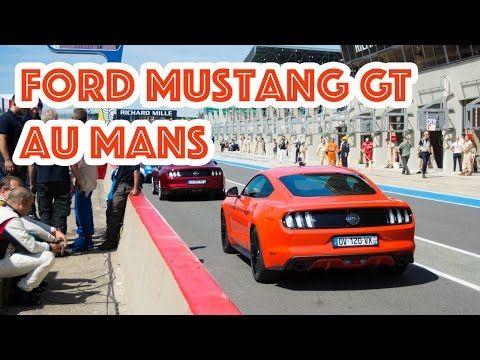 Essai vidéo Ford Mustang GT sur le circuit des 24 Heures du Mans - L'argus