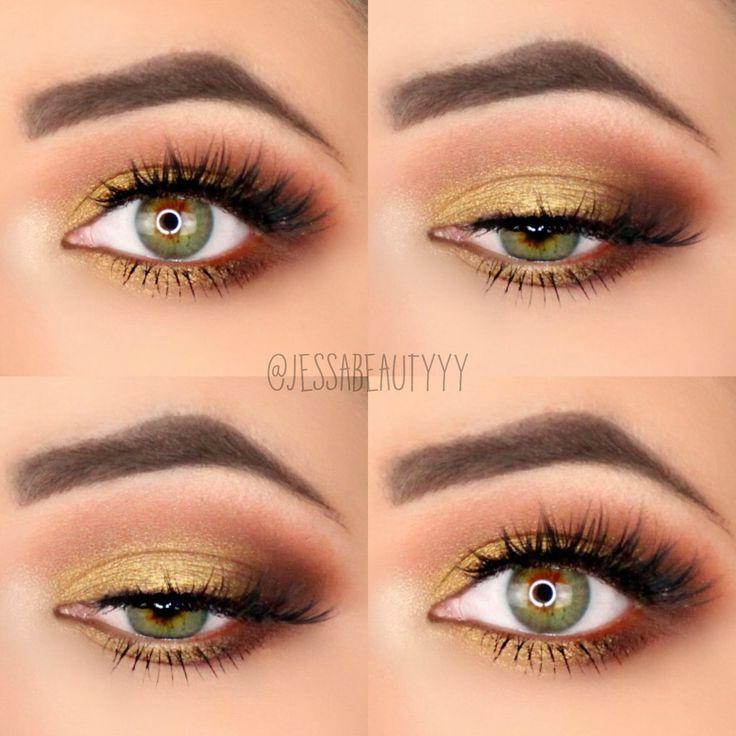 Makeup Ideas! Yellow Eyeshadow! Mustard yellow! Yellow eyeshadow