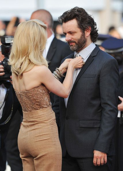Rachel McAdams and Michael Sheen, so happy together