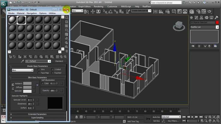 3ds max Basico - Creacion de un apartamento