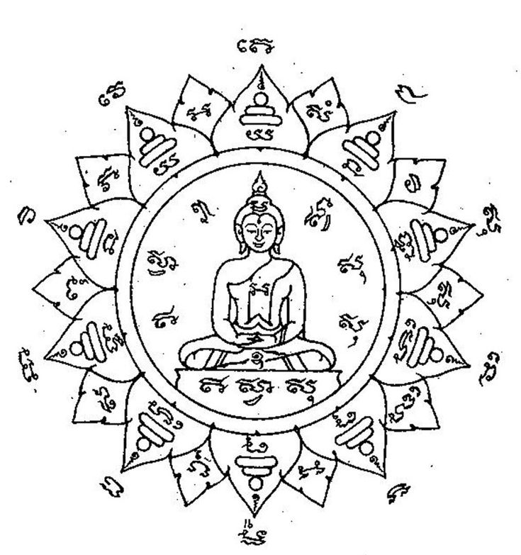 Best 25 Mandala Buddhist Ideas