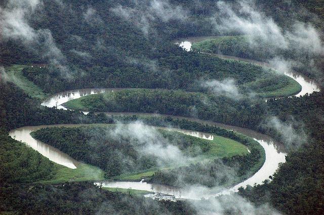 Mamberamo river, Papua Barat (West Papua), Indonesia