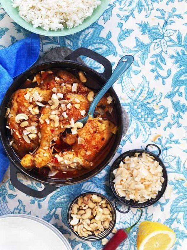 En explosion av smaker med curry, chili, kokos och citron. Recept av Maria Stein.
