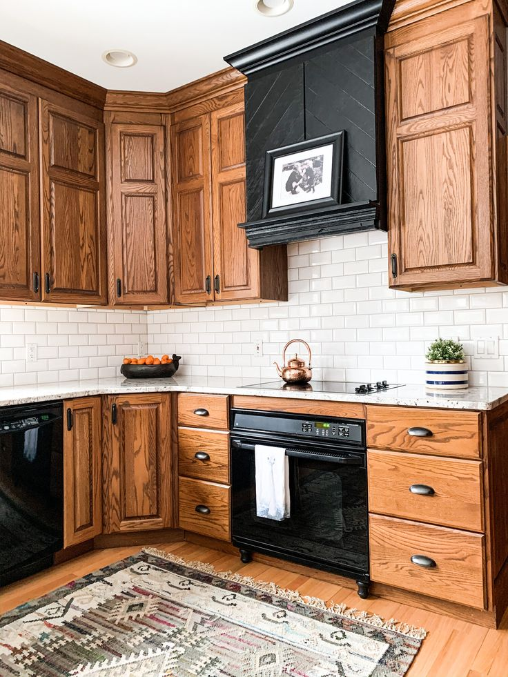 How To Make An Oak Kitchen Cool Again Copper Corners Home Decor Kitchen Oak Kitchen Kitchen Remodel