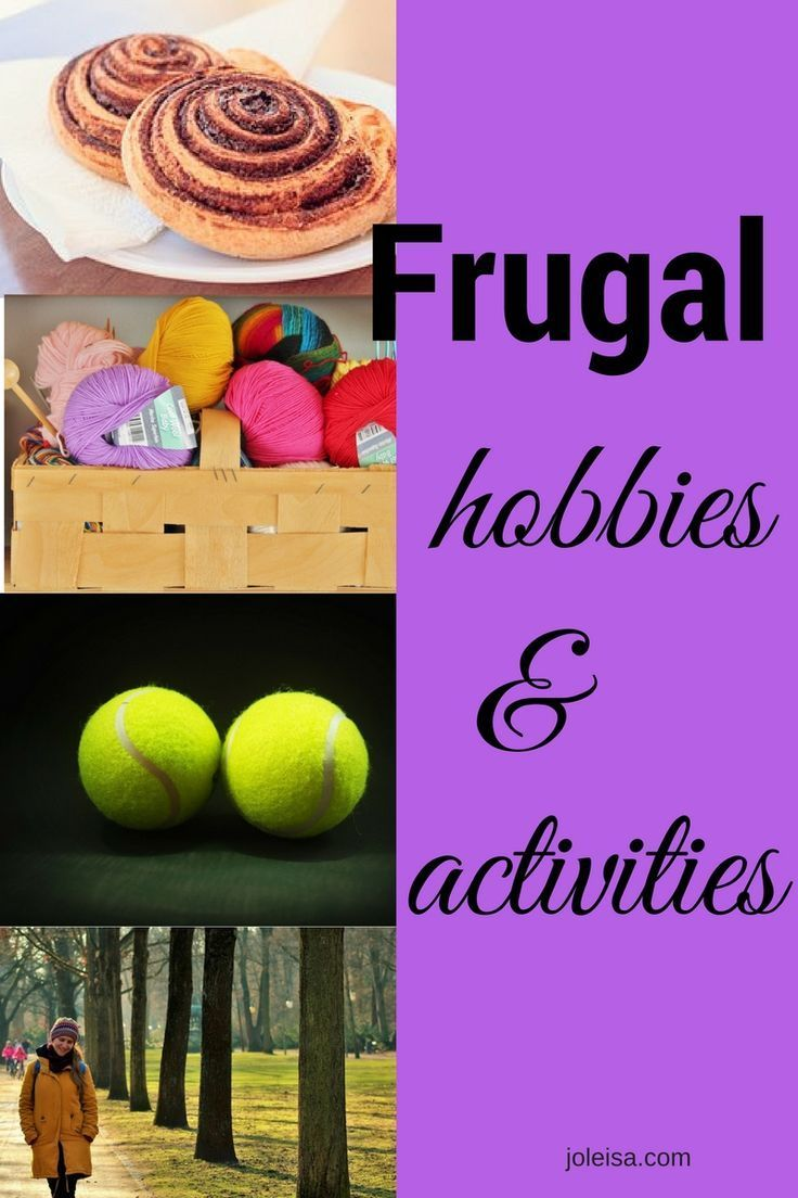 Frugal Hobbies and Activities