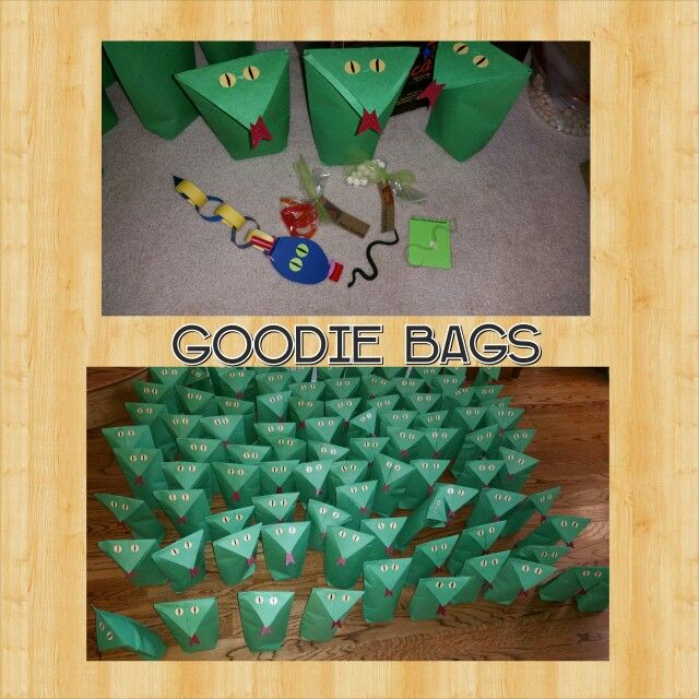 halloween kids crafts snake goodie bags things i made tried done 2137