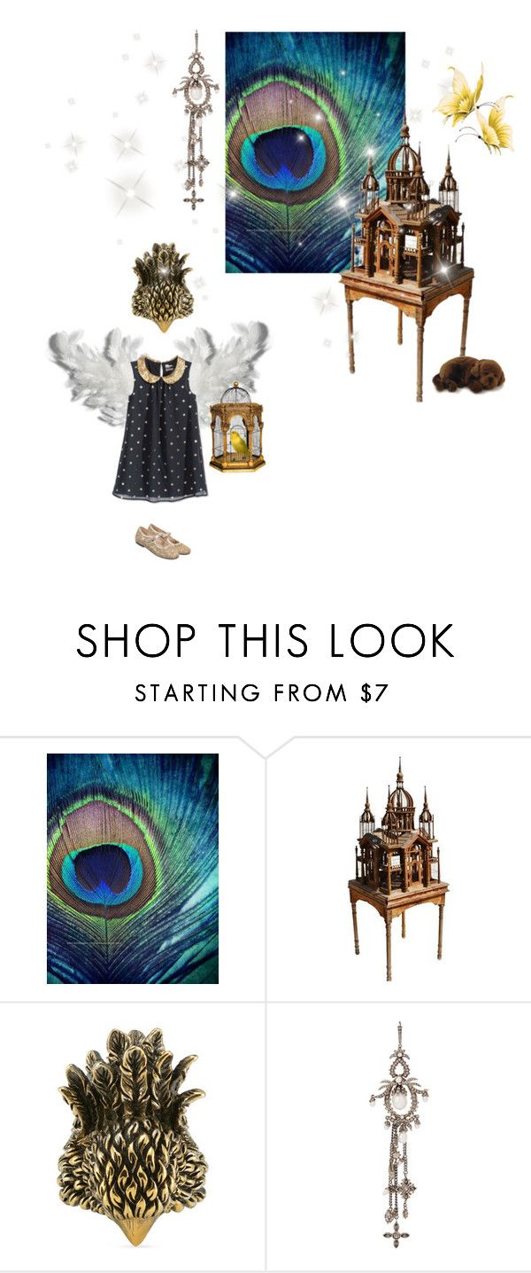 """Mini me N° 84"" by kissfromhanoi ❤ liked on Polyvore featuring Gucci, Alexander McQueen, Manuela de Juan and Lab"