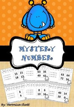In these task cards, the students have to answer three calculations in order to figure out what the mystery number is, by process of elimination. The task cards include multiplication with 1 - 10 times tables.There will be similar units with division and higher numbers as well.