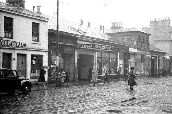 Hillhead Station, Glasgow