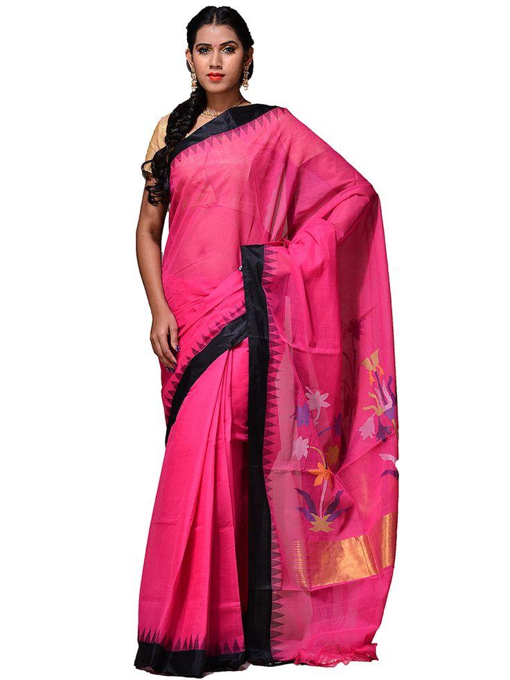 Handloom cotton Khadi Saree...kh0181a