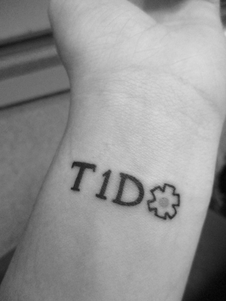 Image result for t1d tattoo