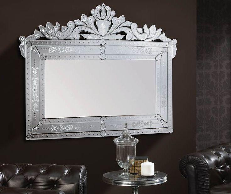 Venezianischer Spiegel ADRIANO. Dekoration Beltrán, Ihr Spiegel-Shop für elegante Spiegel in venezianischem Stil.