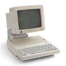 "The Apple IIc, our 1st family computer. Many hours of playing ""Where in the World is Carmen San Diego"" (me) and ""Zork"" (my dad) were wasted on this thing."