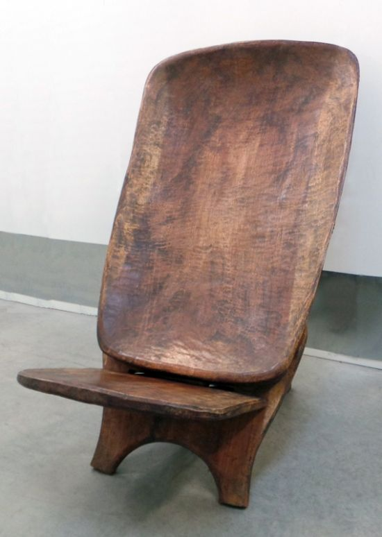 African Birthing Chair - Dogon antique birthing chair from the Ivory Coast  was hand-carved - 600 Best Seating - Chairs Images On Pinterest Modern Furniture