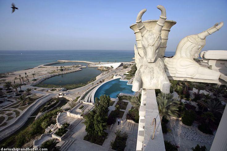 Dariush Grand Hotel Kish Island Iran The Great Persia Is Pinterest Och Öar