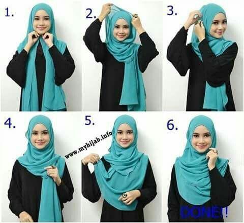 Hijab Tutorials #6