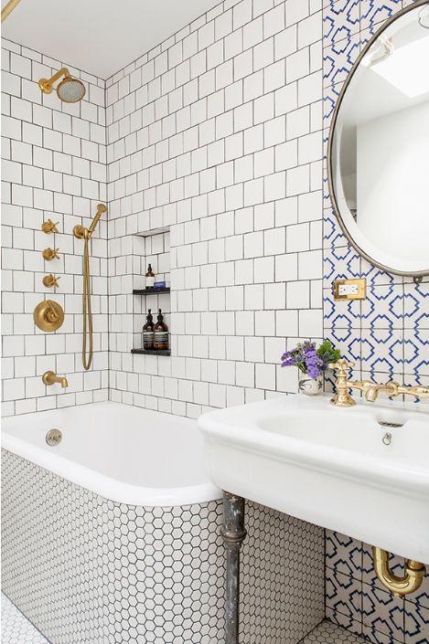 Bathroom tiles - 1st Dibs - Elizabeth Roberts Portuguese Tile