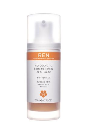 No. 1: REN Clean Bio Active Skincare Glycolactic Skin Renewal Peel Mask, $55 , 10 Best At-Home Peels -- and the 4 Worst