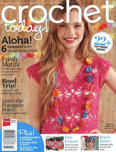 Butterfly Creaciones: revista crochet today! 2013