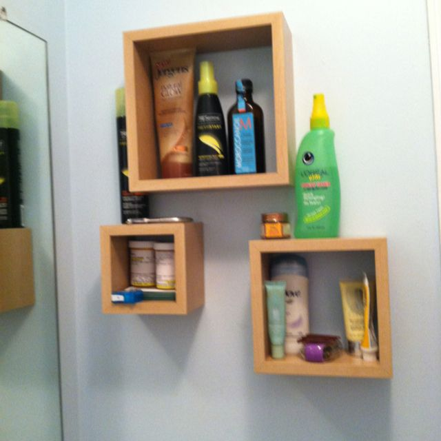 great storage idea for a small bathroom or bad under counter storage space