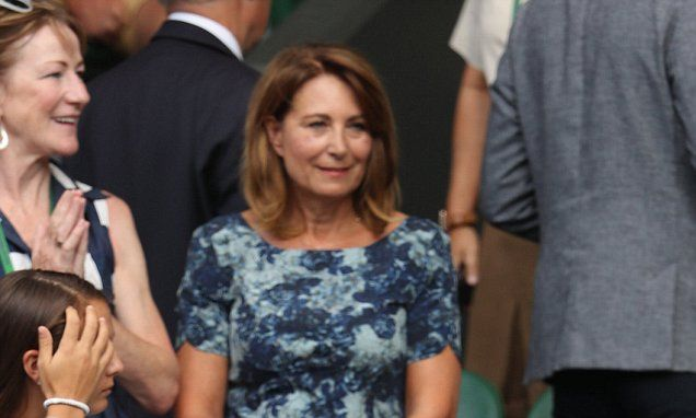 Carole Middleton's Wimbledon ticketsthanks to Mrs Federer