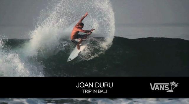 Vans Surf Team edit: Joan DURU by Vans Europe.