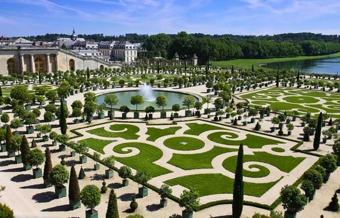 Jardin à la francaise <br/> Si Versailles m'était compté...