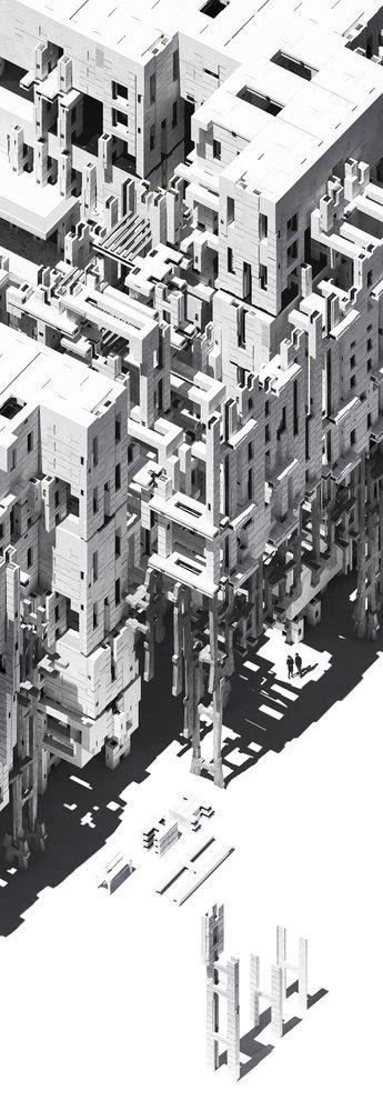 Arquitectura. Dibujos. Perspectivas. Isometrías