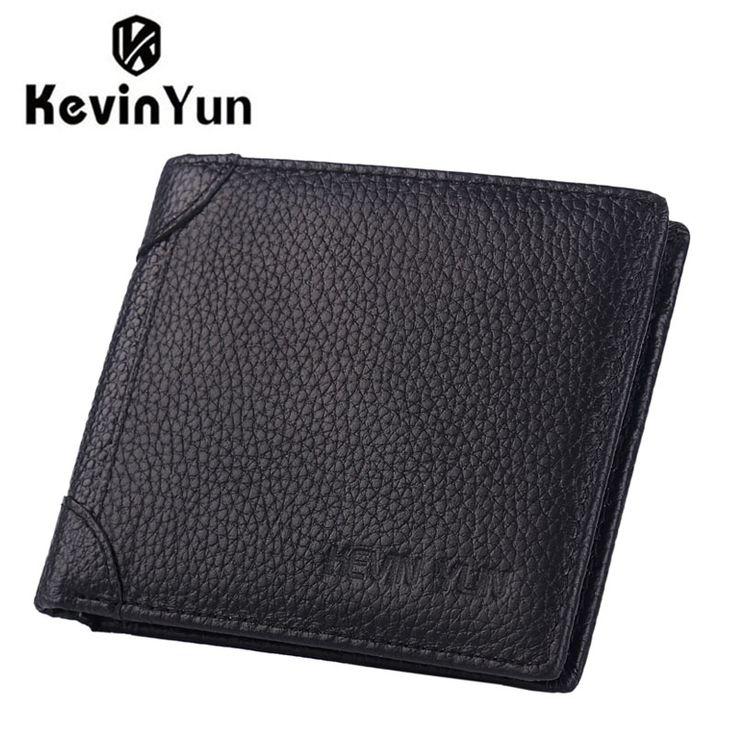 $8.77 (Buy here: https://alitems.com/g/1e8d114494ebda23ff8b16525dc3e8/?i=5&ulp=https%3A%2F%2Fwww.aliexpress.com%2Fitem%2FKEVIN-YUN-Designer-Brand-Luxury-Men-Wallets-Genuine-Leather-Short-Purse-Business-Male-Card-Holder-Wallet%2F32773664466.html ) KEVIN YUN Designer Brand Luxury Men Wallets Genuine Leather Short Purse Business Male Card Holder Wallet for just $8.77