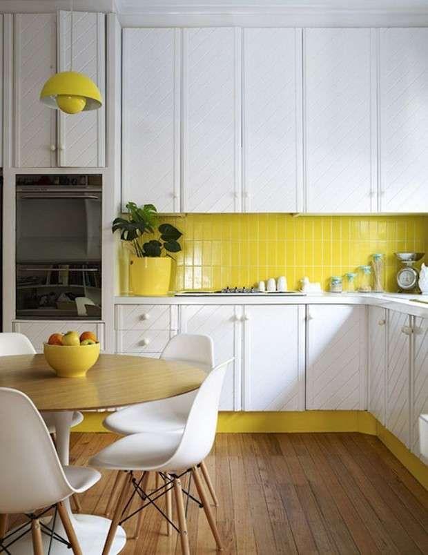 Oltre 25 fantastiche idee su Arredamento da cucina in giallo su ...