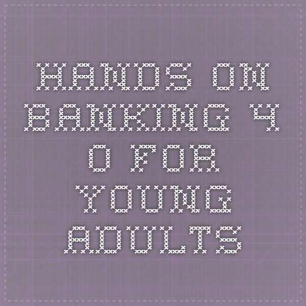 hands on banking 4.0 for young adults