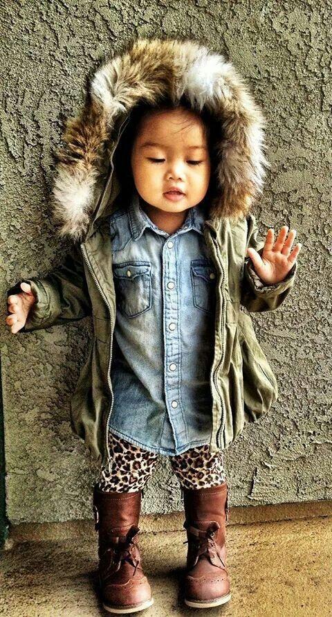 Fur Hoodie Jacket