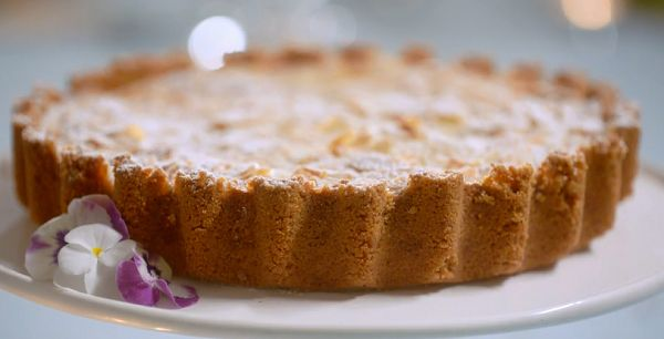 Mary Berry's apple frangipane tart on Mary Berry's Easter Feast