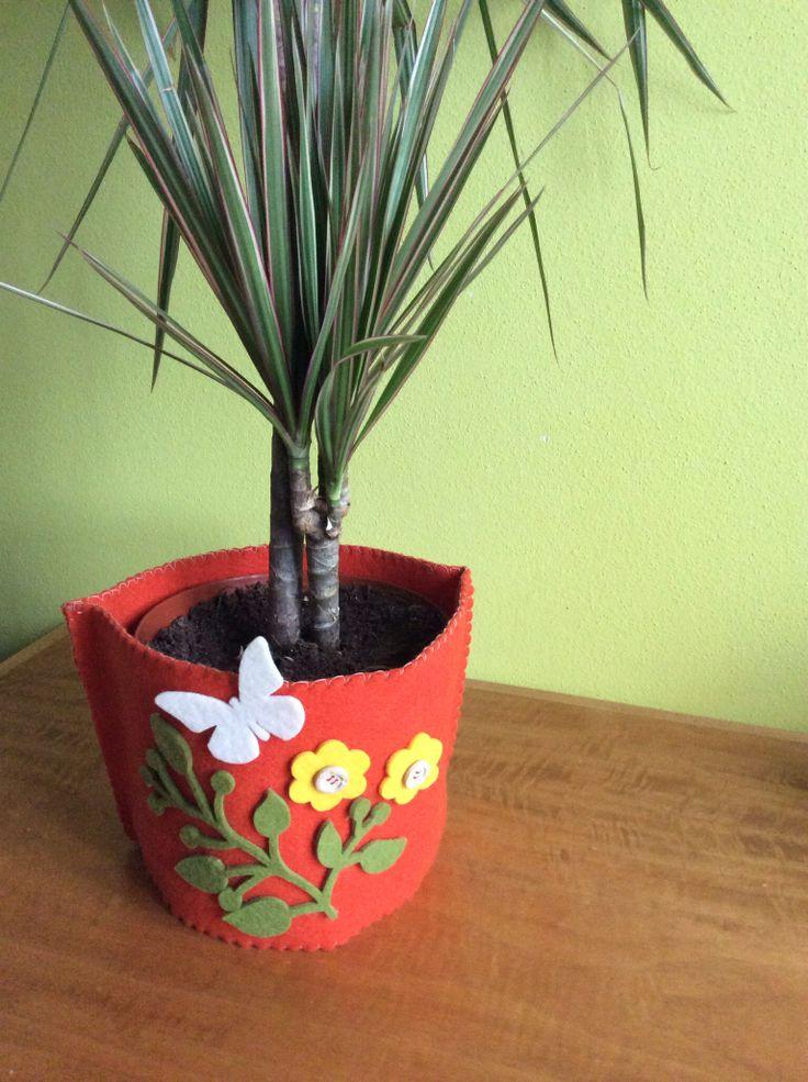 Copri vaso pianta casa.