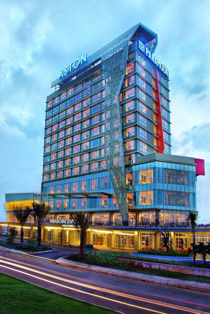 Building Atria Hotel and Conference Paramount Serpong - one of our sister hotel