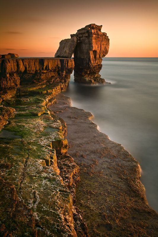 """and-the-distance: """" Pulpit Rock - Dorset, England """""""