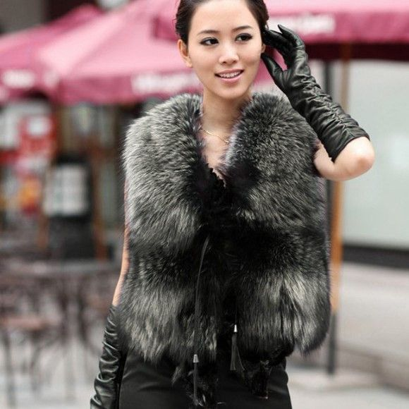 Best 25  Rabbit fur vest ideas only on Pinterest | Apres ski ...