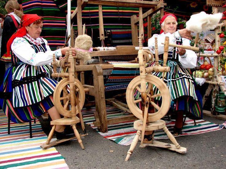 Spinning wheels. Opoczno, Poland. Photo via opoczno.pl