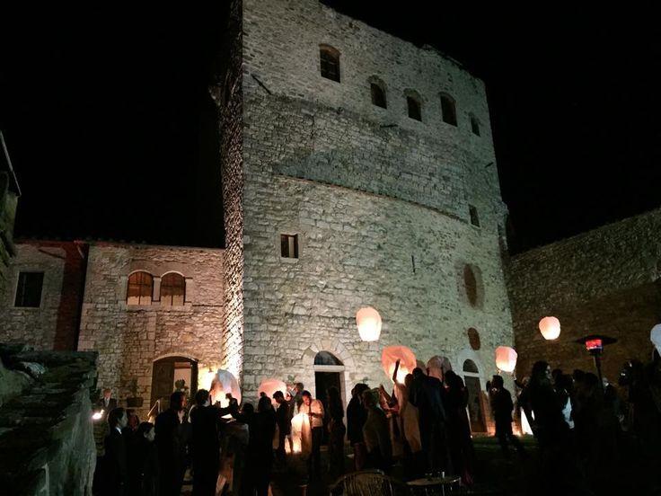 Castello di Tornano #Tuscanhills  #Lanterns All Rights Reserved GUIDI LENCI www.guidilenci.com