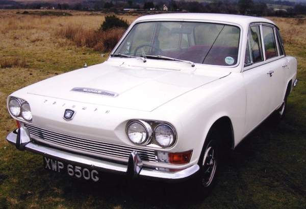 The Triumph 2000 (6 cylinder 1998cc engine) in its original styling