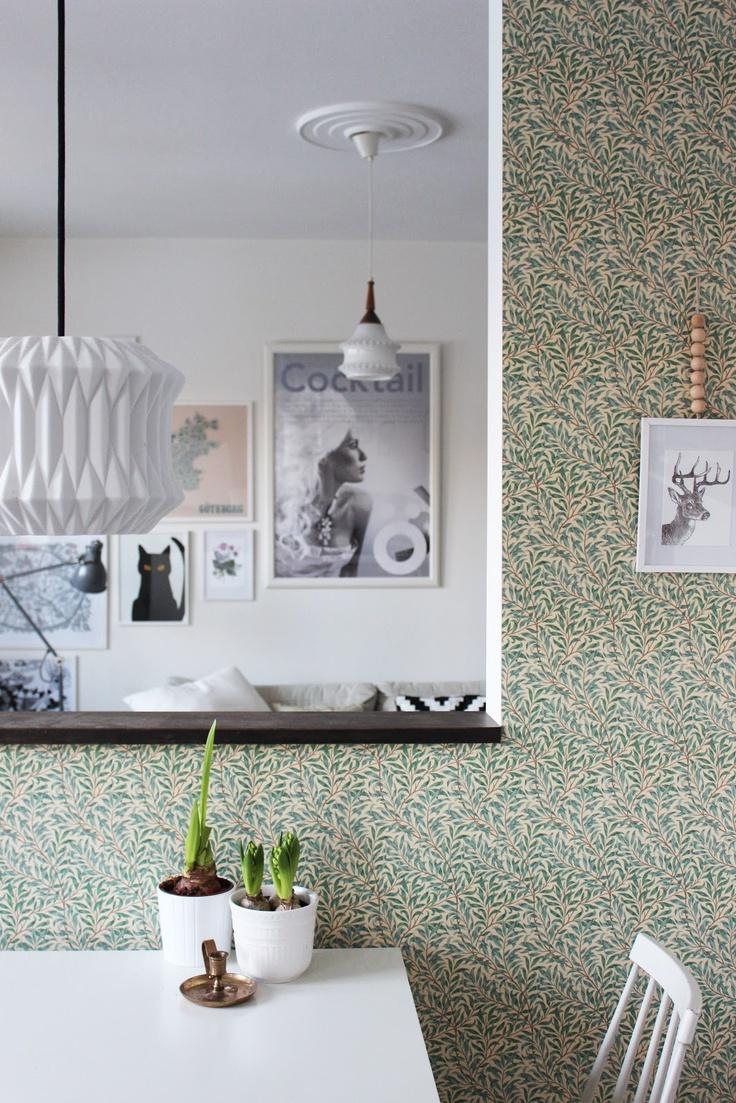 kitchen and living room from Så fint jag vill