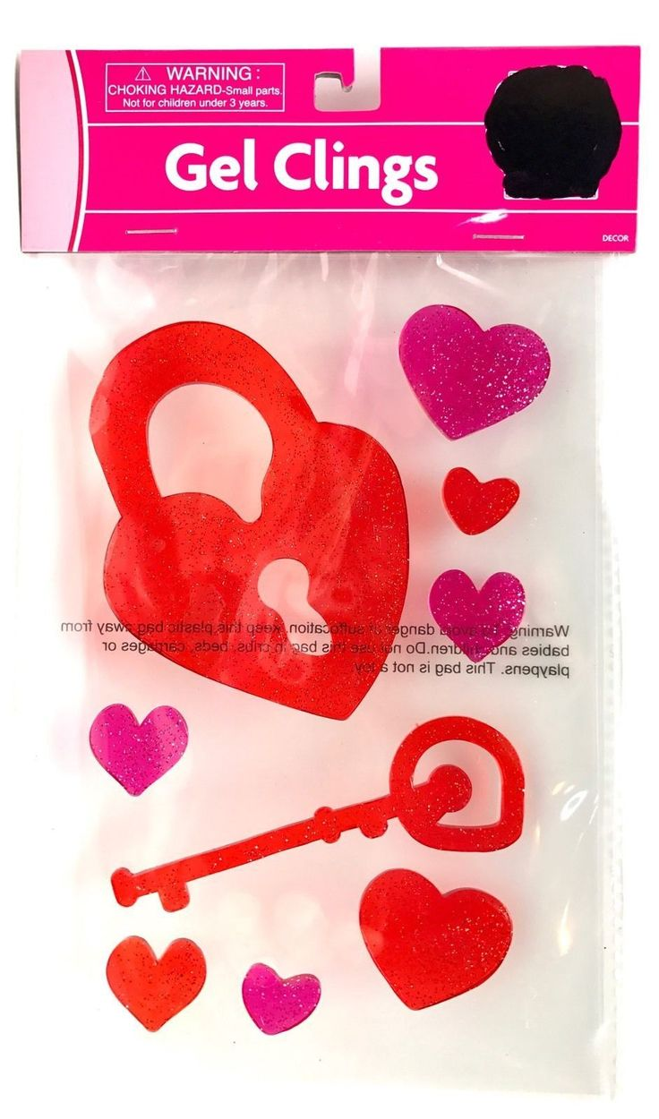 New item today Valentine Gel Cli... found at  http://keywebco.myshopify.com/products/valentine-gel-clings-glitter-key-heart-washable-window-or-surface-new?utm_campaign=social_autopilot&utm_source=pin&utm_medium=pin